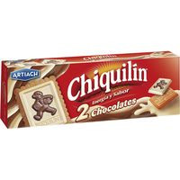 Artiach Galletas Chiquilín 2 chocolates 150g