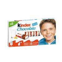 Ferrero Kinder chocolate 8u 100g