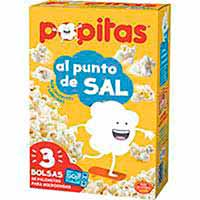 Palomitas POPITAS, pack 3x100 g