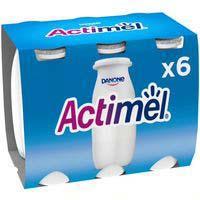 Actimel L-casei natural Danone 6x100ml