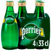 Perrier Agua con gas pack 4x33cl