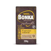 Cafè mòlt naturalespressoBONKA, paquet 250 g