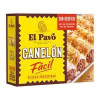 El Pavo Canelones 18u125g