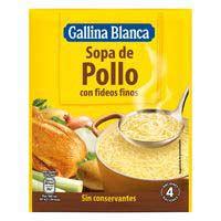 Gallina Blanca Sopa de pollastre amb cabell 72g