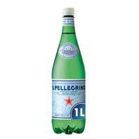 San Pellegrino Agua con gas botella 1l