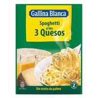 Gallina Blanca Spaghetti 3 quesos 175g