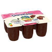 Iogurt infantil de xocolata DANONINO 6x50g