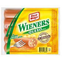 Oscar Mayer Salsitxes wieners amb formatge 5u  200g