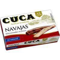 Cuca Navalles natural 4/8 120g