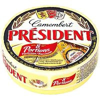 President Camembert porciones 250g