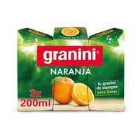 Granini Nèctar de taronja 20 cl X 3
