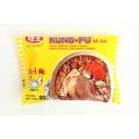Kung Fu Sopa instantània de pollastre 85g