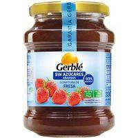 Gerble Melmelada de maduixa sense sucres afegits 380g