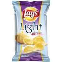 Lays Light Patatas fritas Ligeras al punto de sal 140g