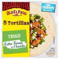 Old El Paso Flour tortillas 326g