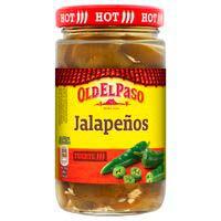 Old El Paso Jalapeños trossos 250g