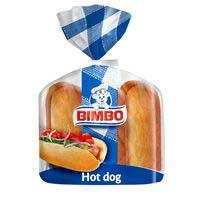Bimbo Hot dogs 6u 330g