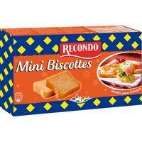 Recondo Mini biscotes 120g