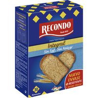 Recondo Pa torrat integral sense sal ni sucre 270g