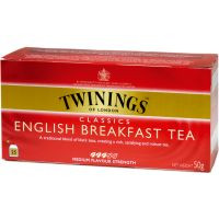 Twinings Té English 25 sobres 45g