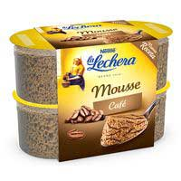 La Lechera Mousse de café 4x60g