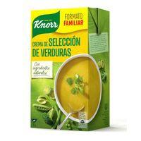 Knorr Crema de selecció de verdures brik 1l
