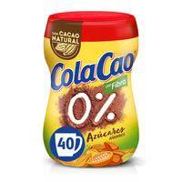 Cola Cao Cacau 0% fibra 300g