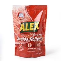 Alex Cera líquida roja para suelos rojos bolsa 200ml