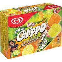 Calippo Mini Llima Llimona i Taronja gelat 6x80ml