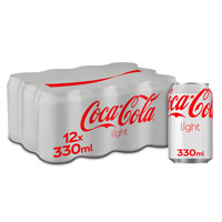 Coca Cola light lata pack 33 cl x 12