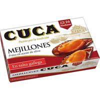 Cuca Mejillón salsa gallega 115g