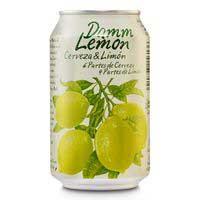 Damm Lemon Cerveza con limón lata 33cl