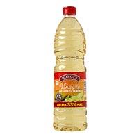 Vinagre de vino blanco BORGES, botella 1 litro
