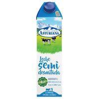 Asturiana Leche combi semidesnatada 1l