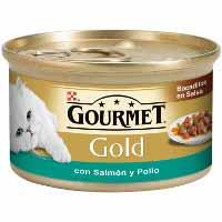 Gourmet Gold Menjar gat salmó 85g