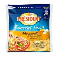 President Queso rallado mozzarella 140g