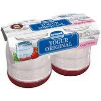 Danone Iogurt original amb maduixes 2x135g