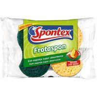 Frotaspon Fregall verd amb esponja 2u