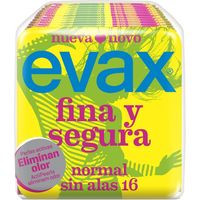 Evax Compresa fina&segura normal 16u