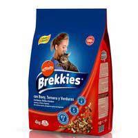 Brekkies Gato buey y verduras 4kg