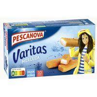 Pescanova Varitas merluza empanada 300g