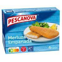 Pescanova Filete merluza empanada 400g