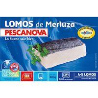 Pescanova Lomos de merluza 400g