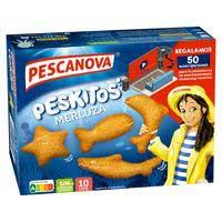Peskitos de lluç empanada PESCANOVA, caixa 400 g