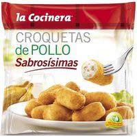 La Cocinera Croquetas de pollo Sabrosísimas 500g