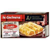 La Cocinera Recetas Artesanas Canelones de carne 530g