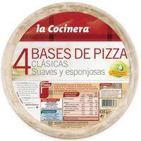 4 Bases de Pizza LA COCINERA 520g