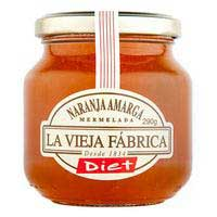 Mermelada de naranja LA VIEJA FABRICA Diet, frasco 290 g