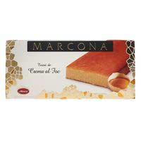 Turrón de crema al fuego MARCONA, caja 300 g