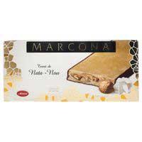 Torró de nata-nous MARCONA, caixa 300 g